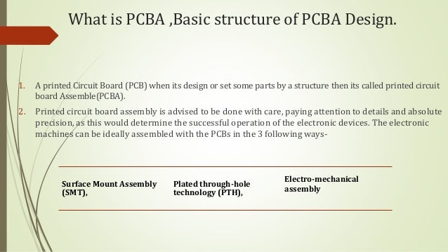 Mechanical Assembly Pcba : Basic structure of pcba for android os