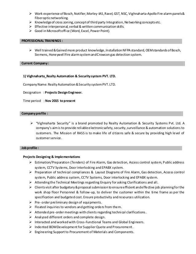 gramesh ' s resume for design  estimation engineer2016