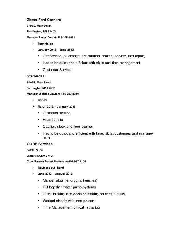Matt S Resume Word Doc 1