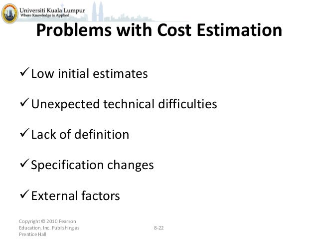 costing estimates and budgeting It is important to come up with detailed estimates for all the project costs once this is compiled, you add up the cost estimates into a budget plan it is now possible to track the project according to that budget while the work is ongoing often, when you come into a project, there is already an expectation of how much it will.
