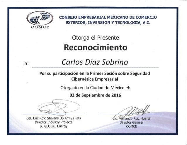Cybersecurity - Carlos Díaz