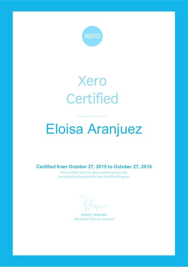 Certified Xero Picswe
