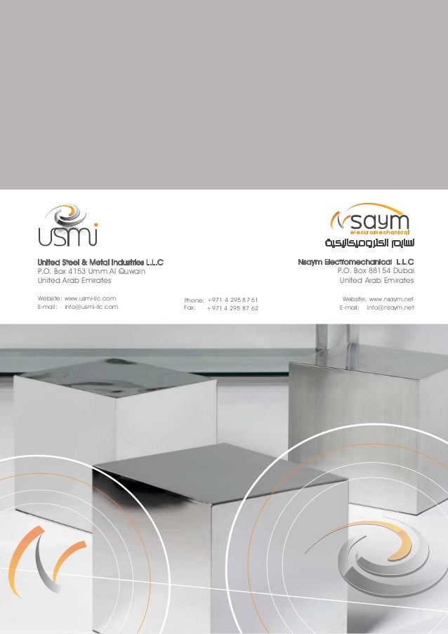 USMI Company Profile- 2015