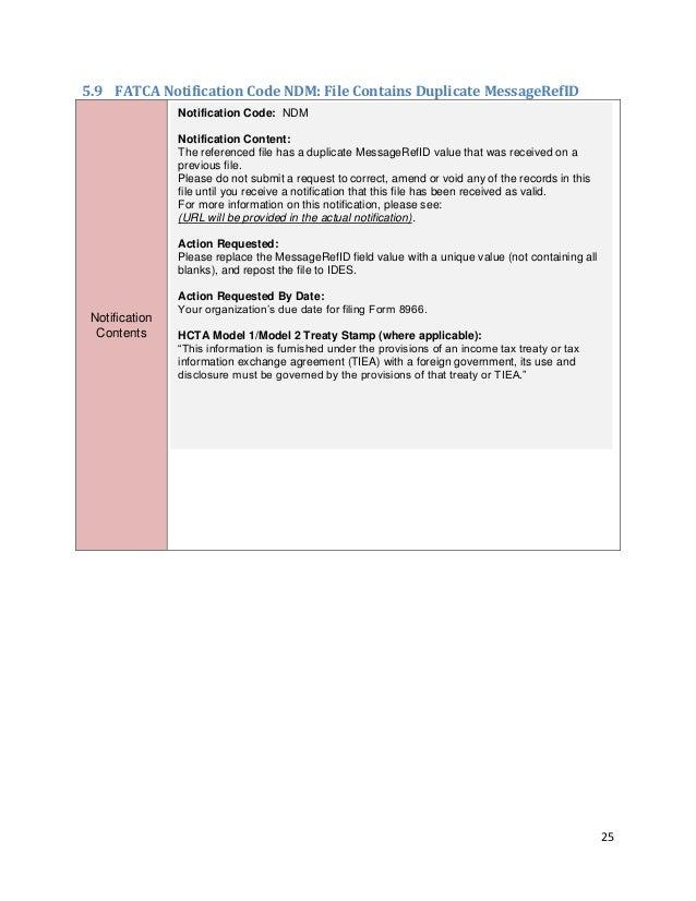 Fatca User Guide