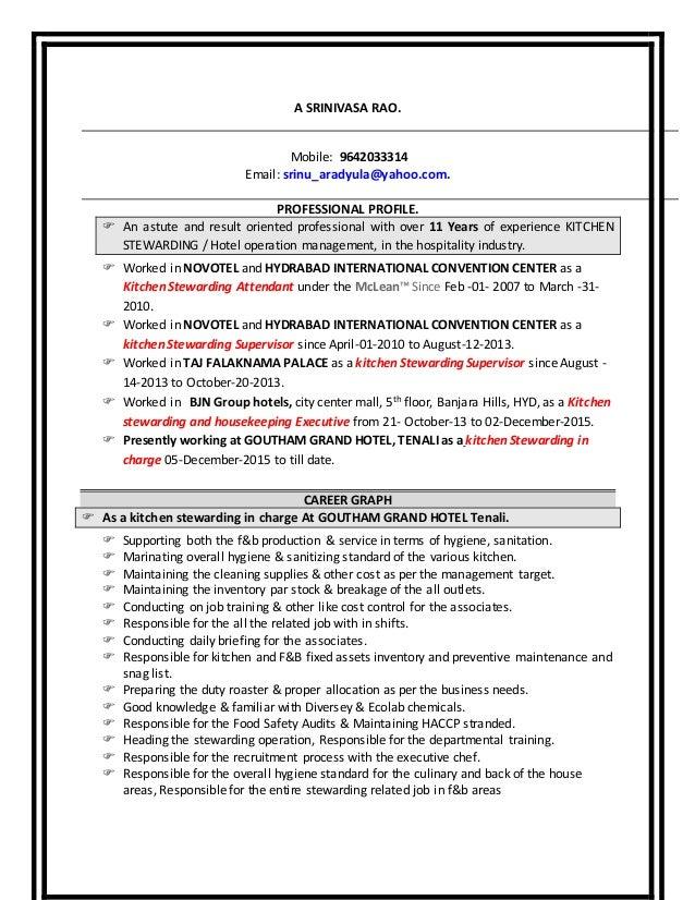 best kitchen steward resume pictures simple resume office