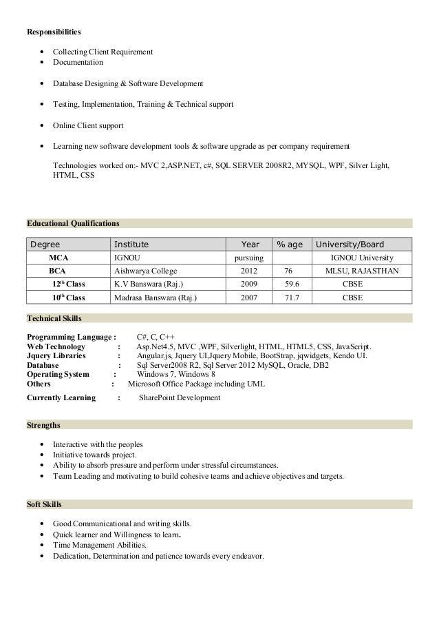 resume hussain senior developer