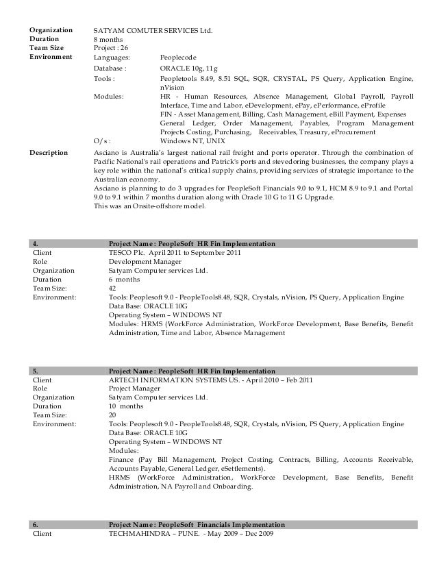 PARAG DESHMUKH CV – Nvision Peoplesoft