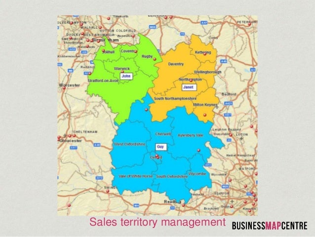Business Map Centre Sales Territory Mapping – Sales Territory Business Plan