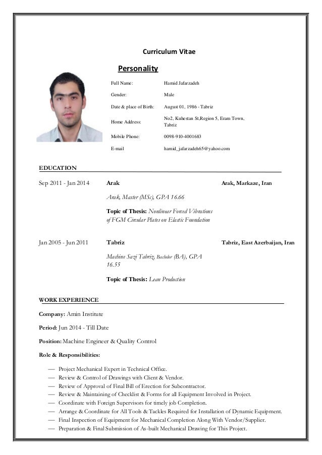 hamid jafarzadeh resume 95 04 05 cv