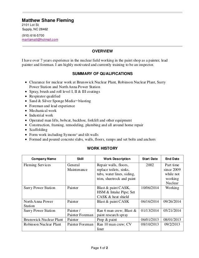 matt fleming resume 12182014