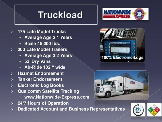 nationwide express tracking