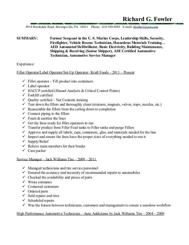 Ricks 2015 Resume