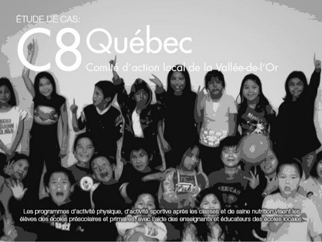 C8 québec   comité d'action local de la vallée-de-l'or