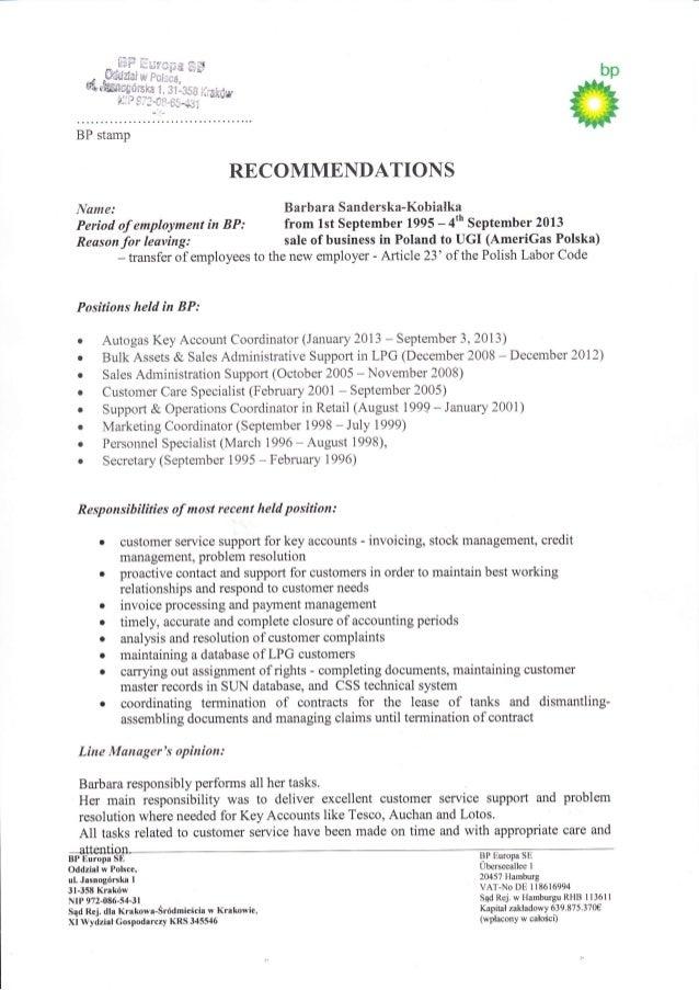 recommendations bp english barbara sanderska doc