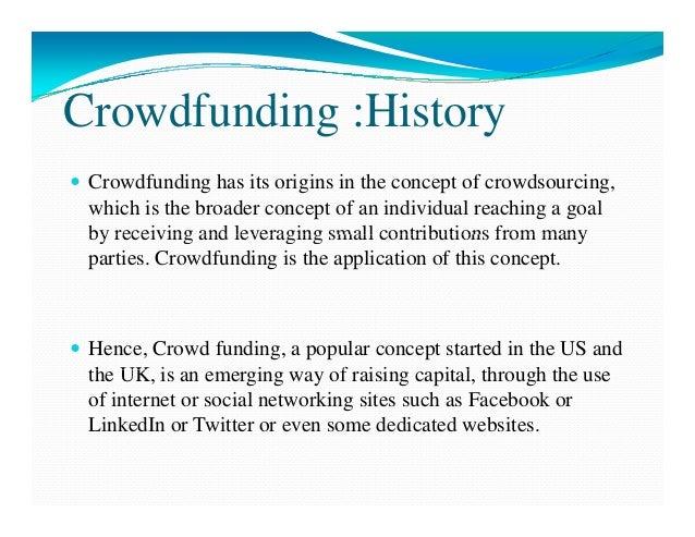 Presentation on Crowd Funding Slide 3