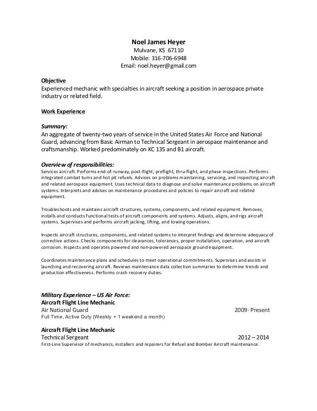 Crew Chief Resume Exol Gbabogados Co. Stunning Air Force ...