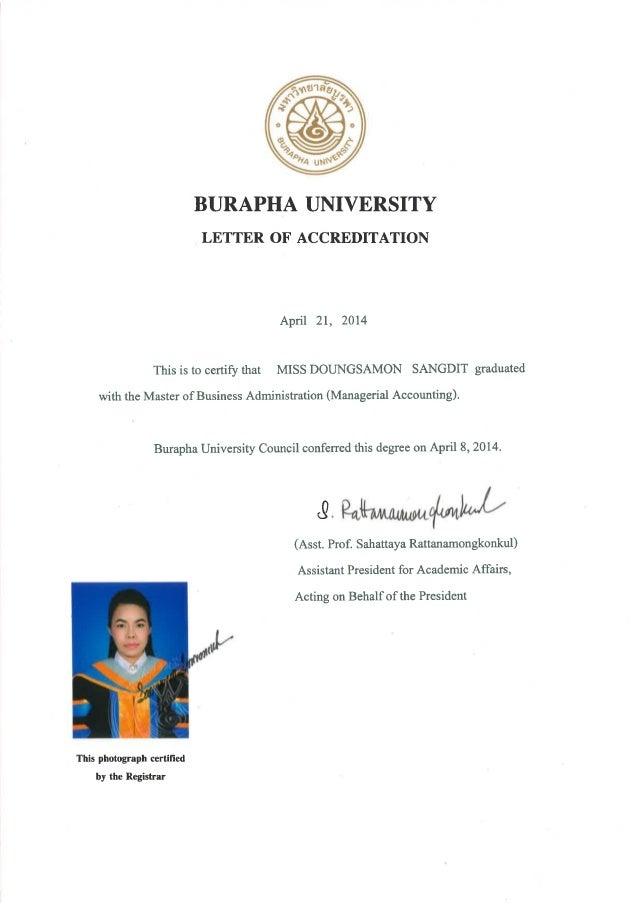 Certification Mba