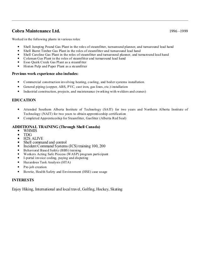 Resume of Michael Bower