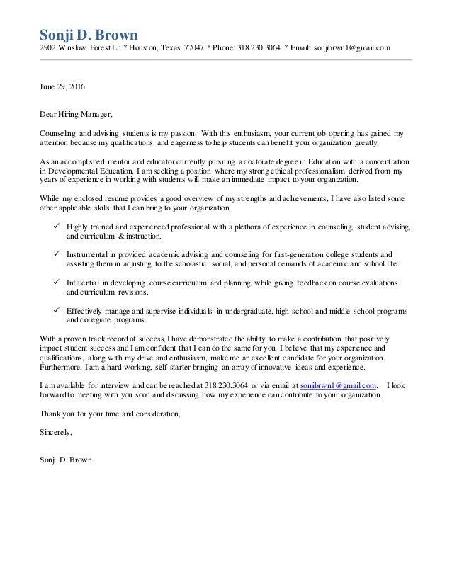 College Student Cover Letter from image.slidesharecdn.com