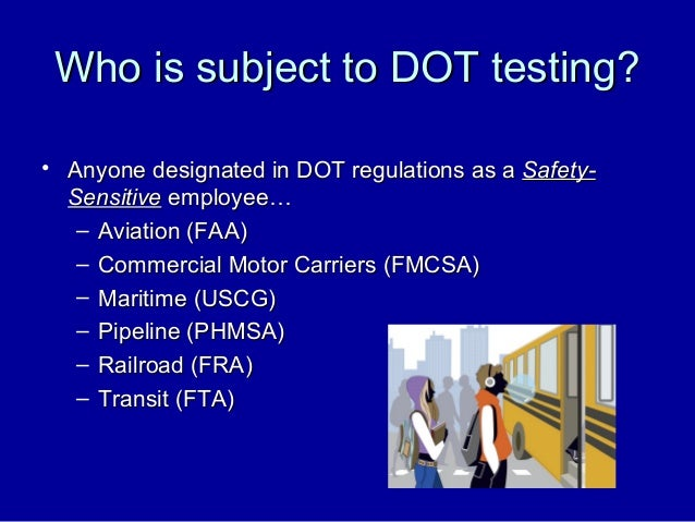 Office of drug alcohol policy compliance my copy for Florida department of motor vehicles drug and alcohol test