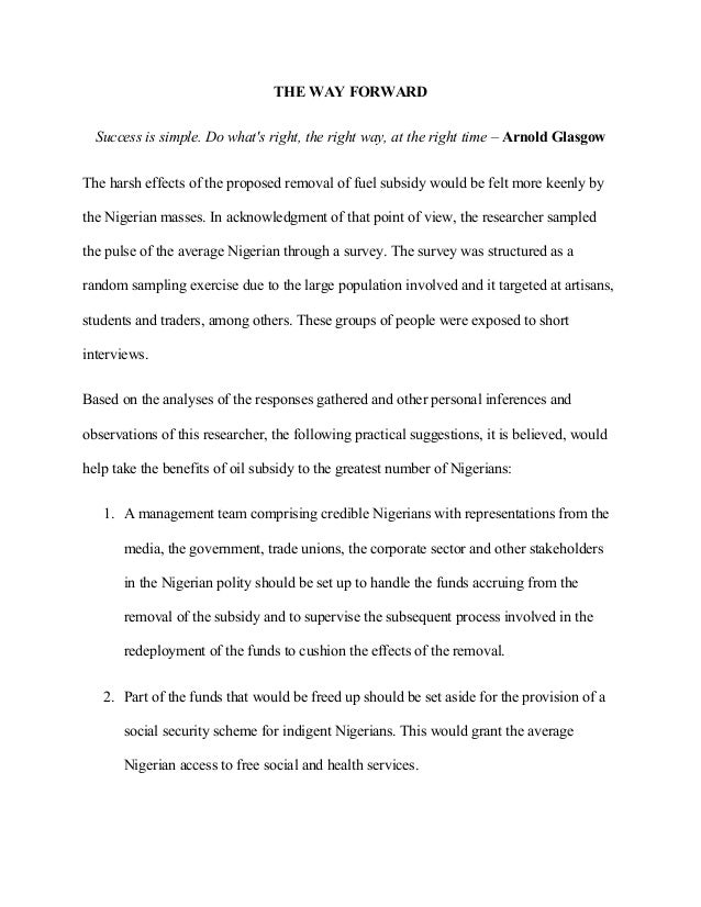 National Youth Essay Competition Entry