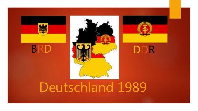 DDRBRD Deutschland 1989