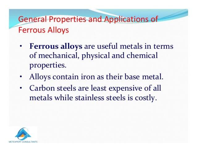 Classification Of Metals Mec 1