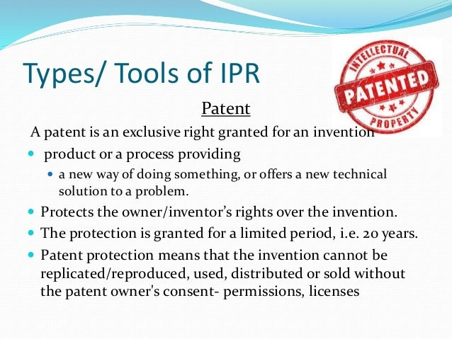 importance of intellectual property How important is intellectual property protection to your startup not too long ago, defensible ip was one of the top things venture capitalists wanted to see in a startup.