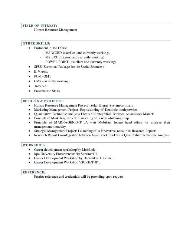 noor ul arsh resume 1