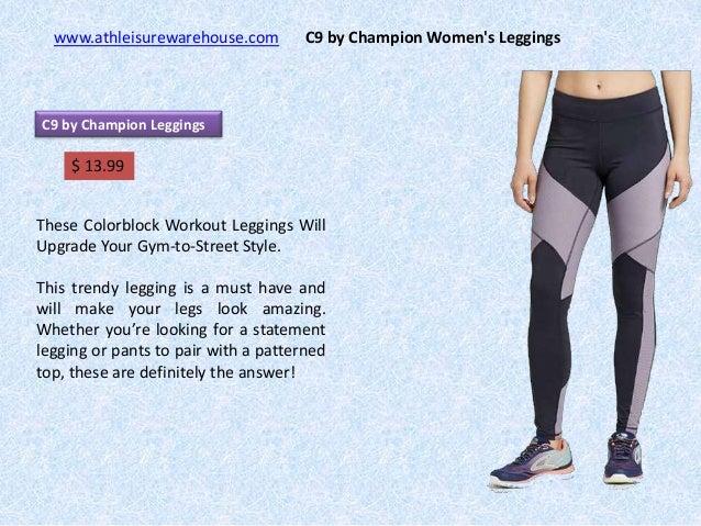 53bfbbbb5ffd C9 by Champion Women s Leggings