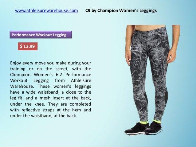 01d1920928a41 C9 by Champion Women's Leggings | Women's FreeWear Leggings | Women's  Freedom Leggings