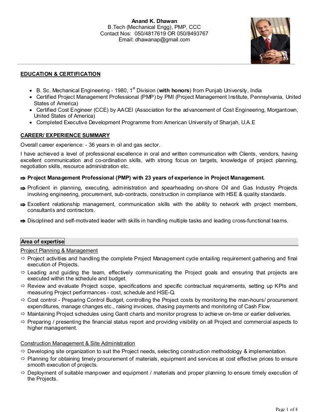 Anand CV (latest Nov 2016)