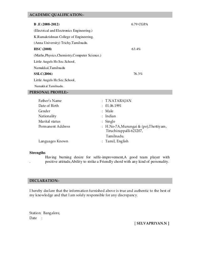 Selvapriyan Resume