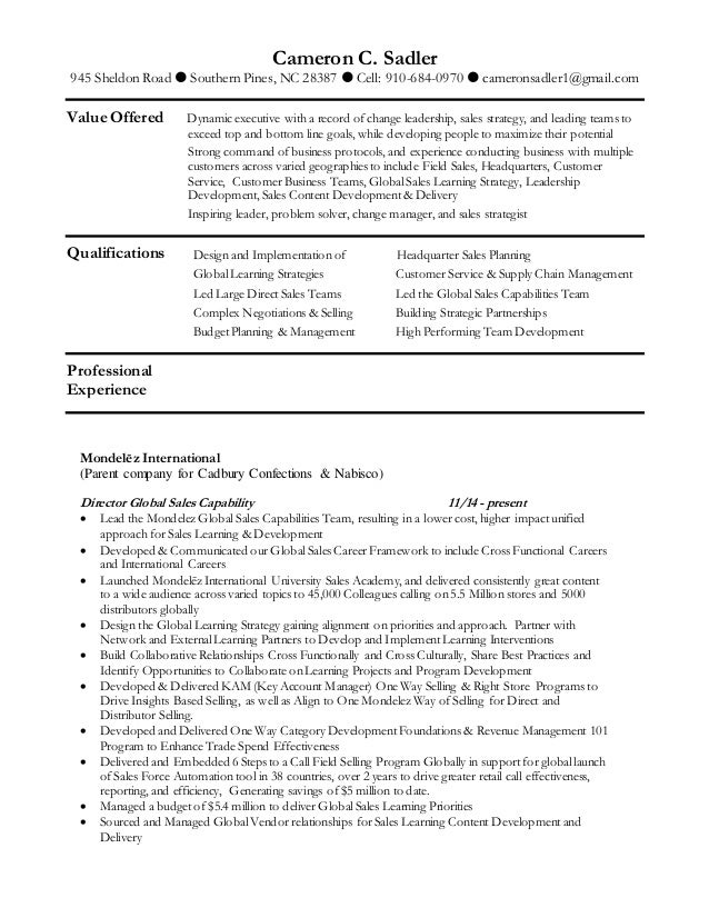 Cs Resume | cs resume 1252016 1 638
