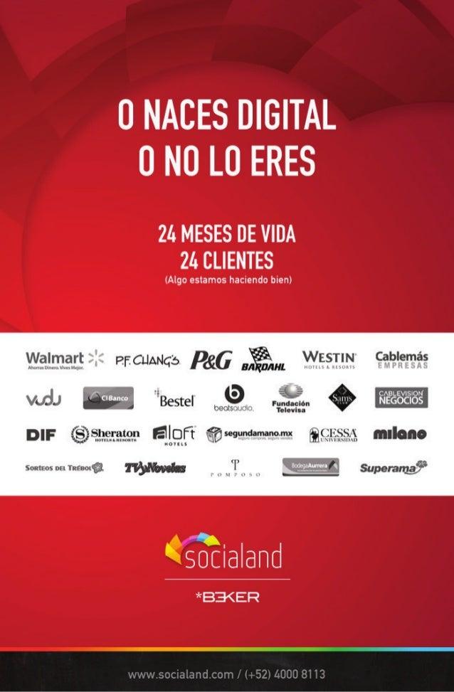 Whitepaper Social Media IAB Mexico Slide 2