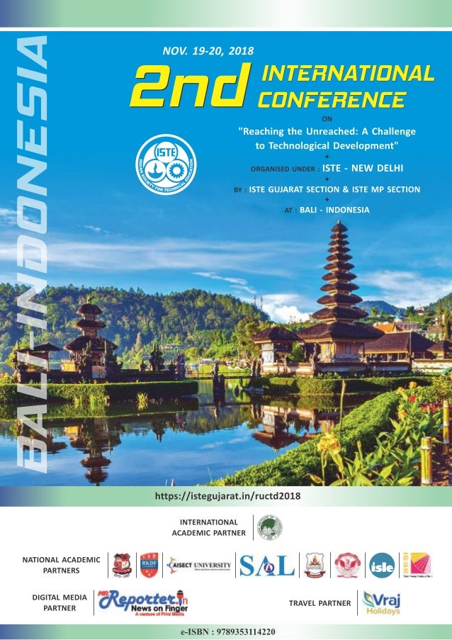 International Conference E-Book Proceeding E-RUCTD-2018