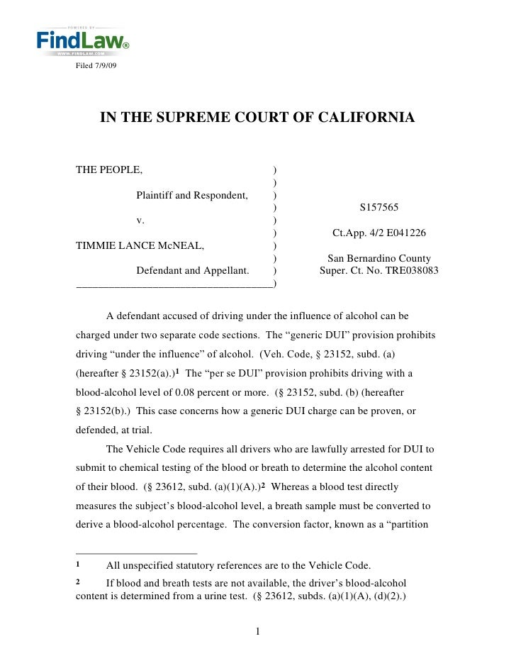 Filed 7/9/09            IN THE SUPREME COURT OF CALIFORNIA   THE PEOPLE,                          )                       ...