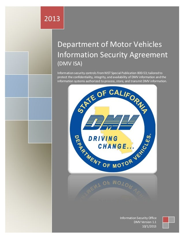 California dmv security risk assessment sra for vendors for Ca gov motor vehicles