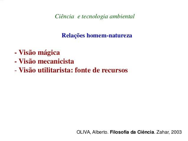 Ciência Ambiental e Interdisciplinaridade - Fundamentos Slide 3