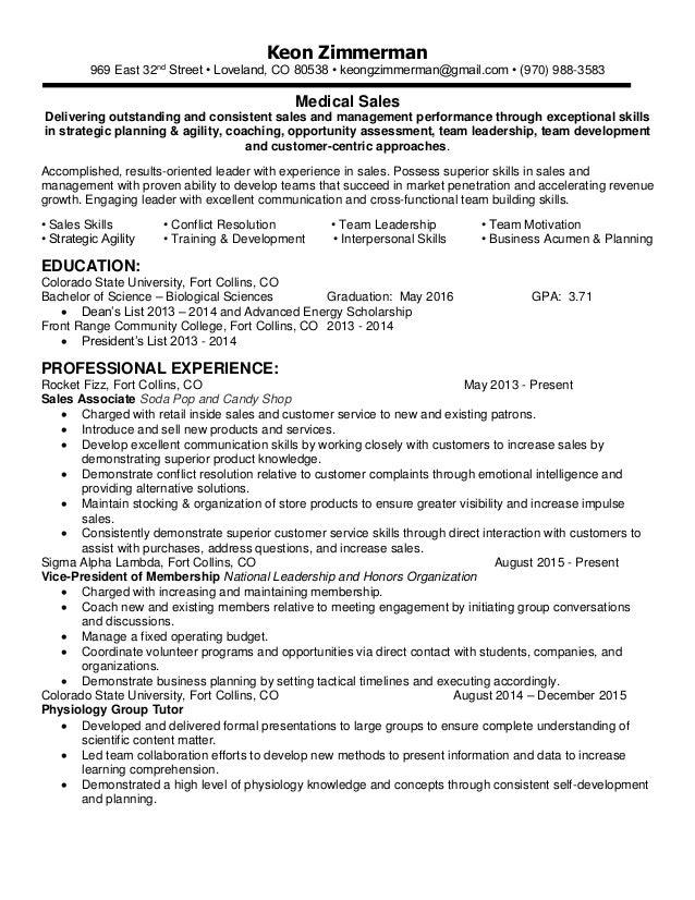 Resume LinkedIn-Keon Zimmerman