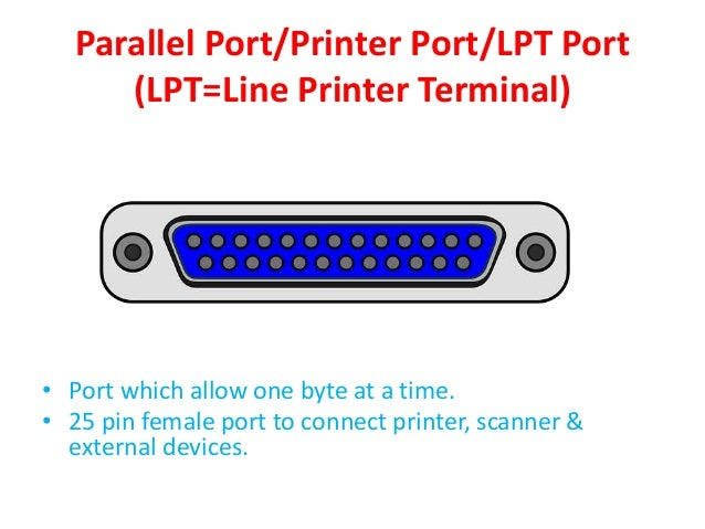 Ports Of Mother Board