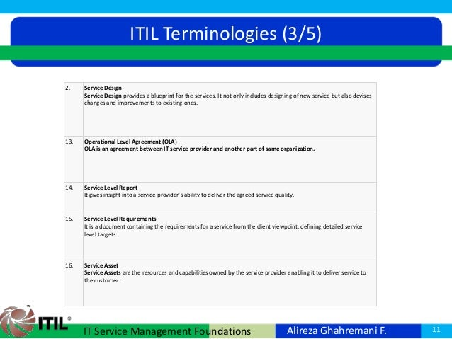 Itil v3 foundation service management foundations 11 malvernweather Images