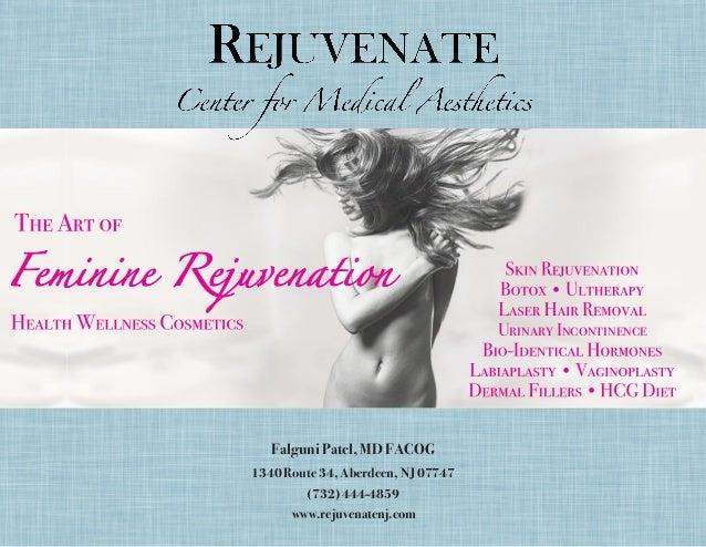 • Urinary Incontinence • • Falguni Patel, MD FACOG 1340 Route 34, Aberdeen, NJ 07747 (732) 444-4859 www.rejuvenatenj.com