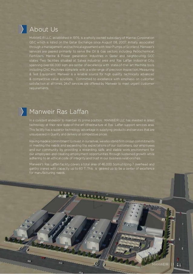 Manweir Brochure