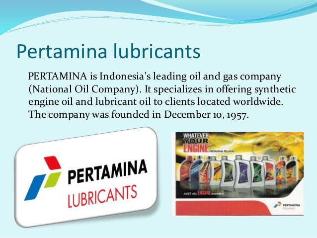 Presentation on lubricants