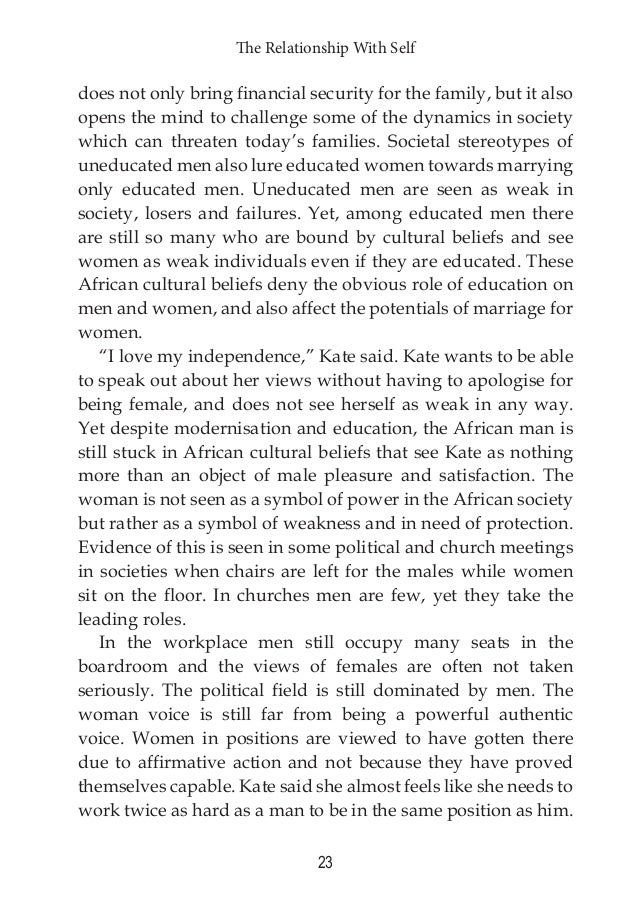 traditional african marriage is an advantage