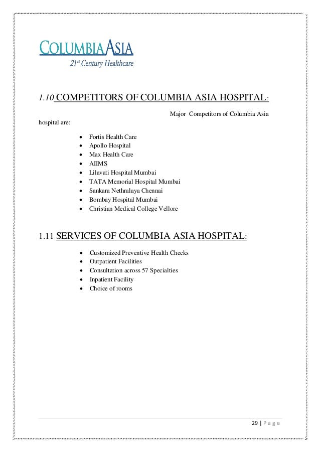 columbia memorial hospital case study New york state department of health (nysdoh) requires that hospitals and  local health departments collaborate with each other and community partners on .