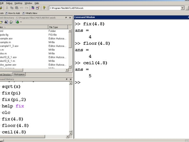 Chapter 3 Built In Matlab Functions