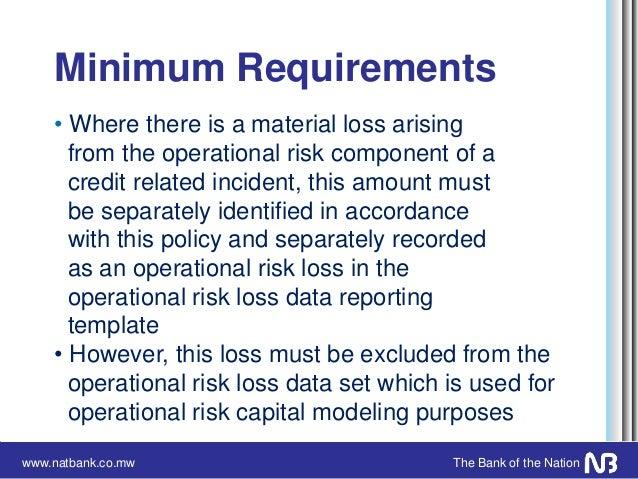 Operational risk management framework presentation operational risk incident management policy 51 maxwellsz