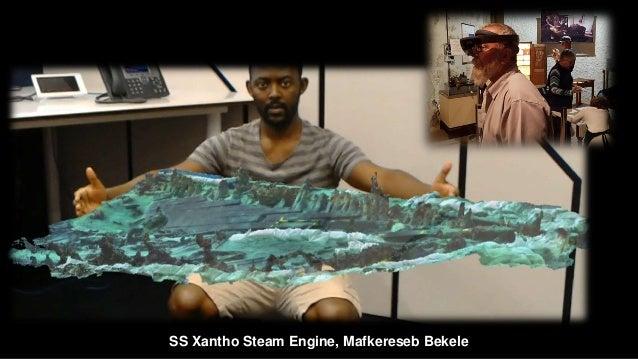 SS Xantho Steam Engine, Mafkereseb Bekele